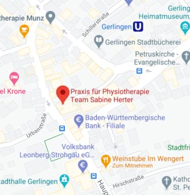 Karte Ort Team Sabine Herter