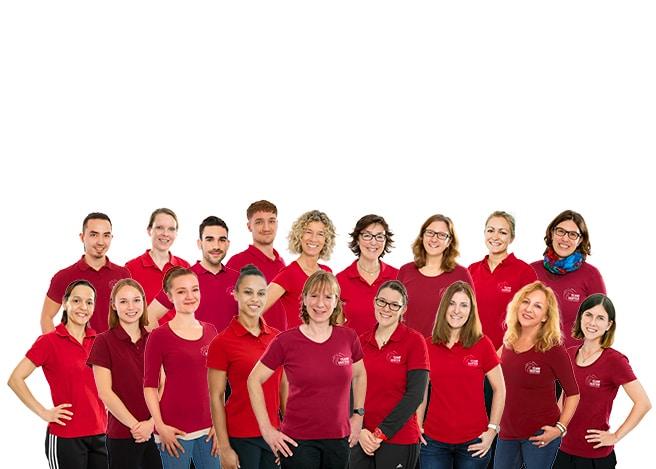 Gruppenbild Team Sabine Herter